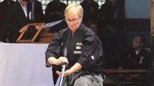 Danielle Borra Kyoto Taikai Iaido