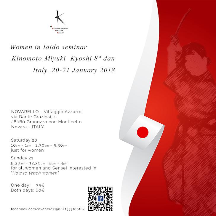Women in iaido seminar
