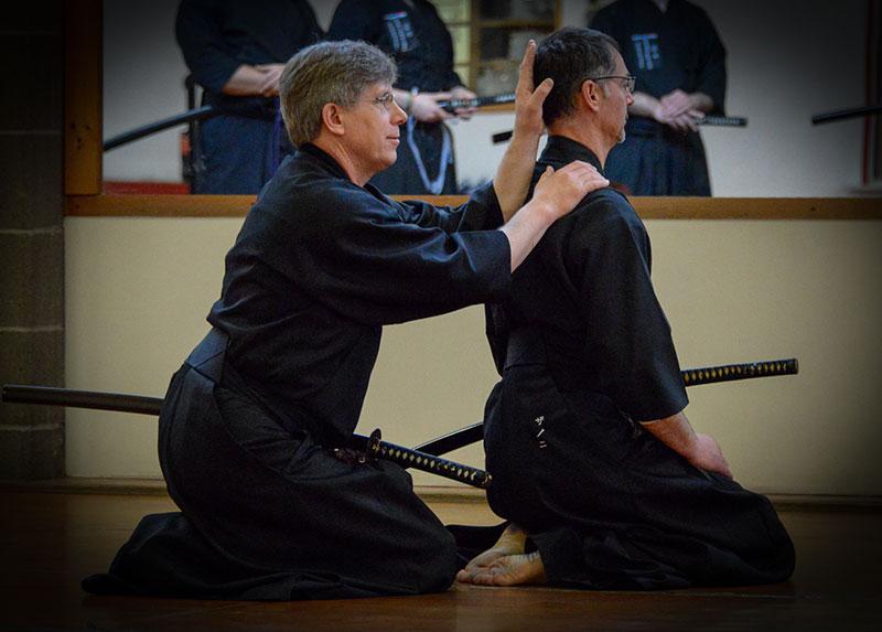 Istruttori, insegnare iaido